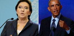 Kopacz udaje Obamę. Papuguje gest amerykańskiego prezydenta