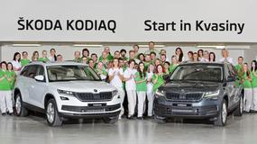 Rozpoczęcie produkcji Skody Kodiaq w Kvasinach