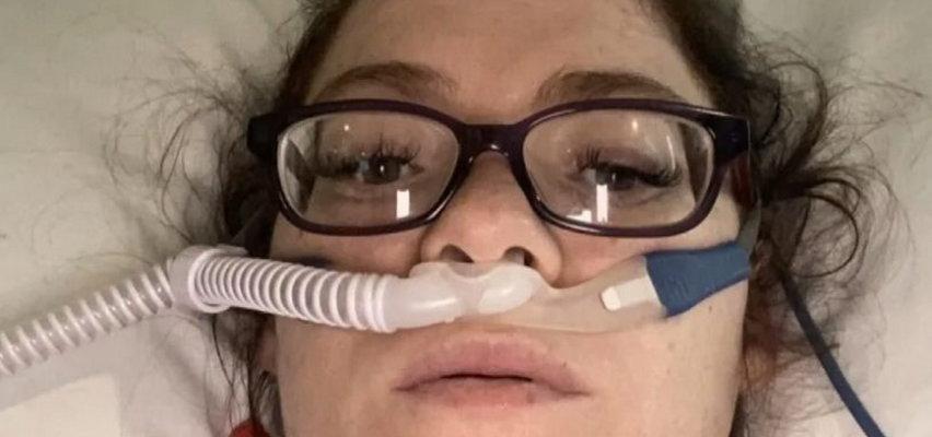 Przez brak szczepienia prawie straciła życie i syna. Teraz apeluje do ciężarnych: szczepcie się