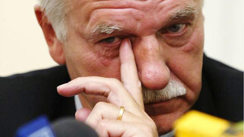 Olechowski o odejściu z PO: Krew mnie zalała