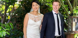 Suknia ślubna żony Marka Zuckerberga