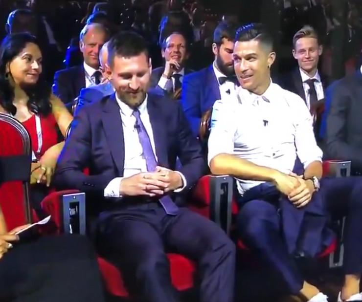 Kristijano Ronaldo i Lionel Mesi na žrebu za Ligu šampiona