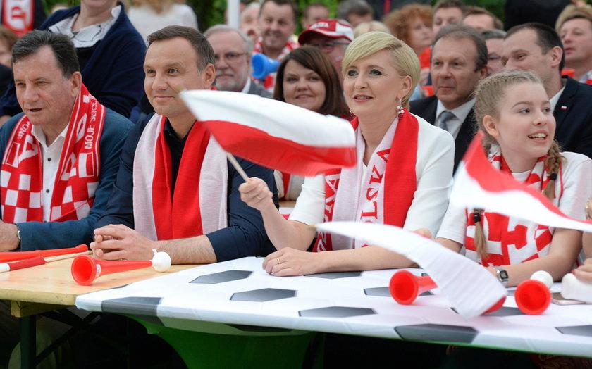 Prezydent Andrzej Duda o meczu Polaków