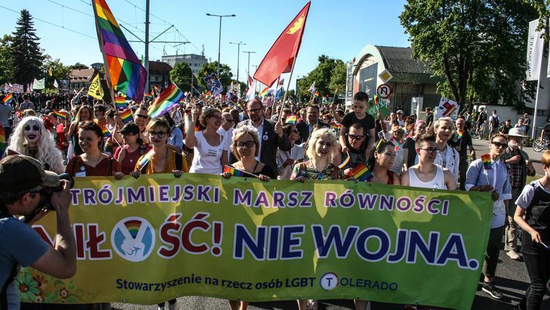 27 maja ulicami Gdańska przeszedł Marsz Równości, w którym wzięło udział kilka tysięcy osób