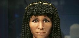 Oto egipska księżniczka. Była mumią. Zdjęli jej bandaże