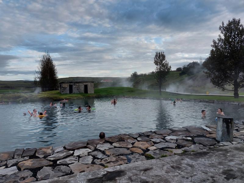 A Secret Lagoon nevet viselő termálfürdő
