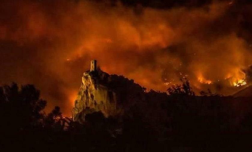 Wielki pożar w Toskanii. Ewakuowano setki osób