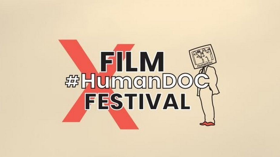 Plakat #HumanDOC Festival 2019