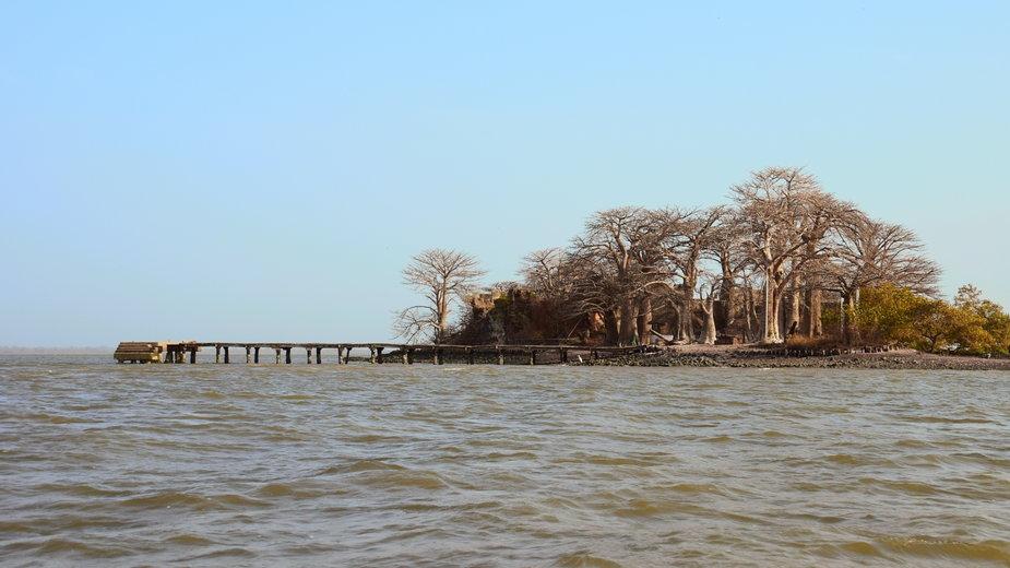 Kunta Kinteh Island - Wyspa niewolników