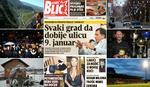 """""""EuroBlic"""" za 29.12. PREDLOG ZA 26. ROĐENDAN Ulica 9. januar u svakom gradu i opštini u Srpskoj"""