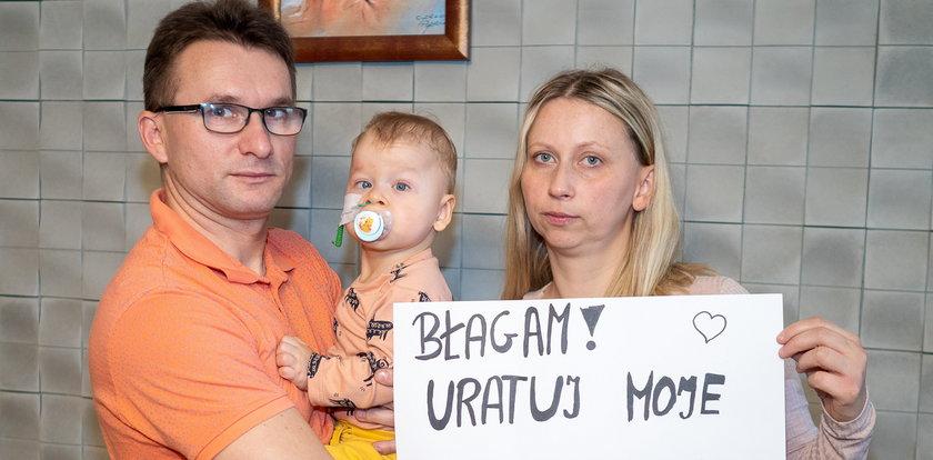 Wiktorek poleciał z Łodzi do Ameryki po zdrowe serduszko