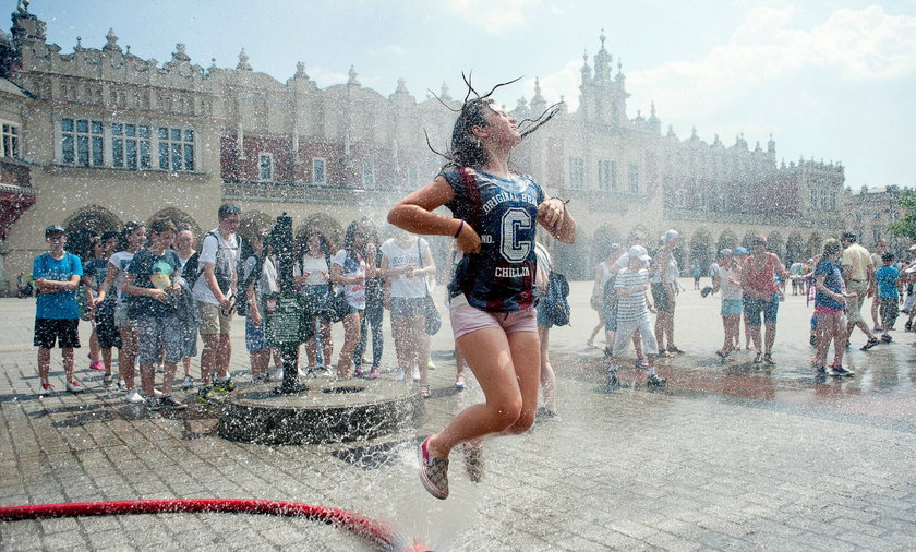 Kurtyny wodne w Krakowie