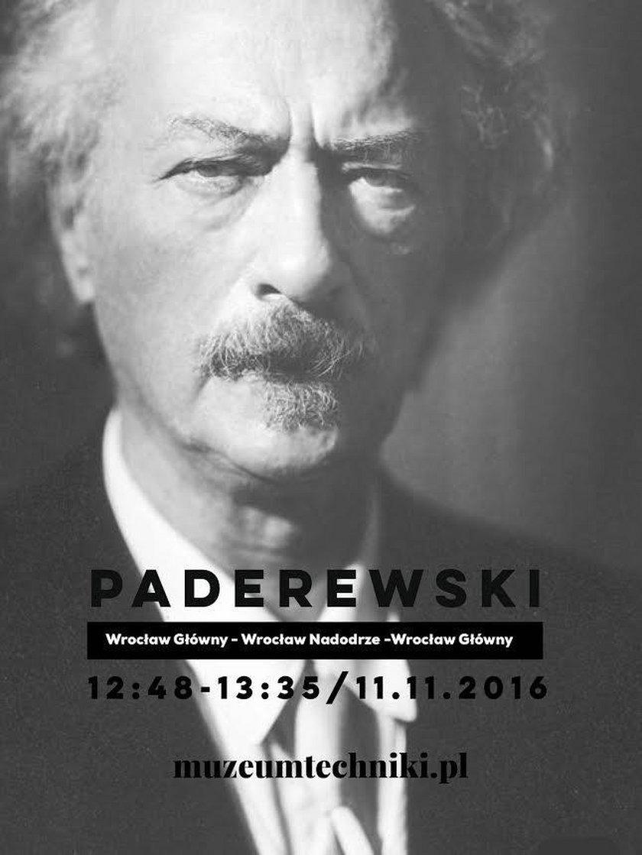 Ignacy Paderewski - patron jednego z zabytkowych pociągów
