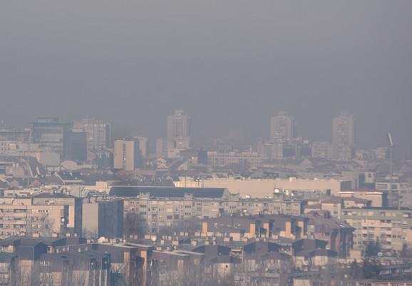 Vazduh u Srbiji ozbiljno zagađen