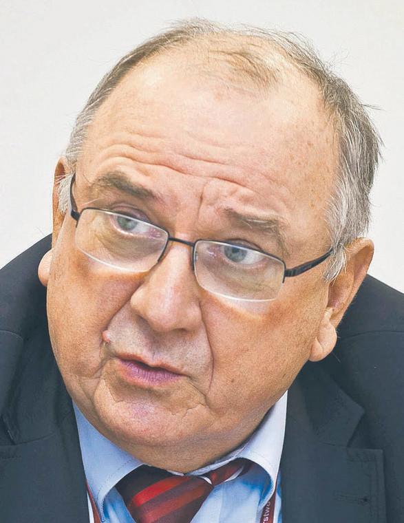 Jerzy Kozdroń, radca prawny, były wiceminister sprawiedliwości