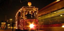 Świąteczny tramwaj wyruszy na tory