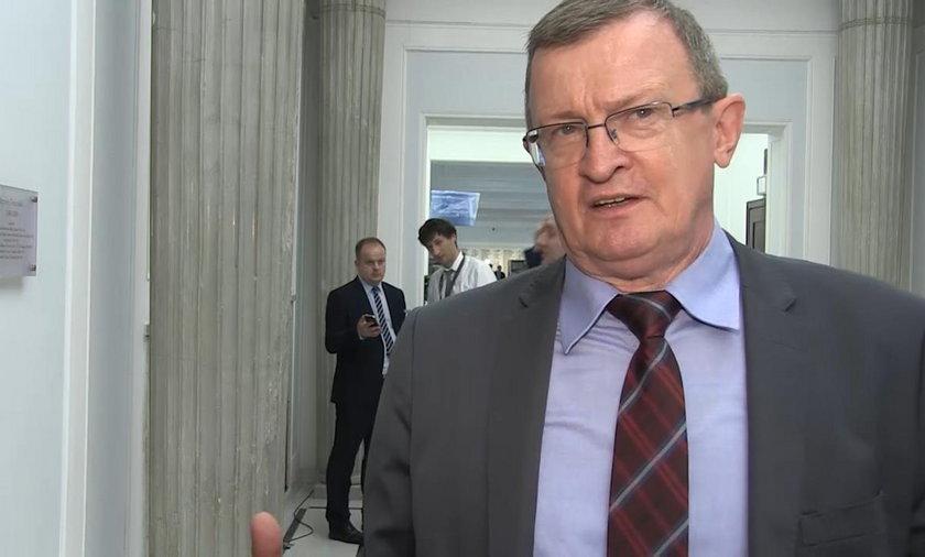Poseł PiS Tadeusz Cymański