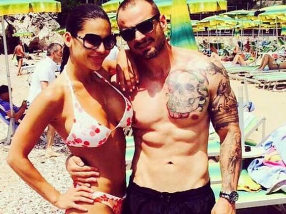 Marina Visković i Mirko Vuković iz vremena dok su bili u ljubavi