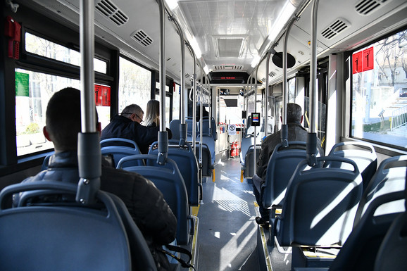 Autobusi su skoro prazni
