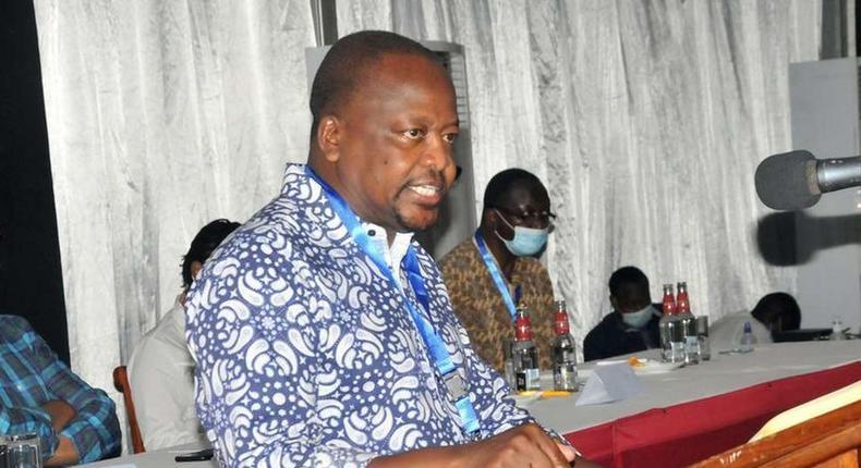 Health Cabinet Secretary Mutahi Kagwe