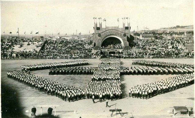 Fotografija sletišta u Beogradu 1930, fond MIJ