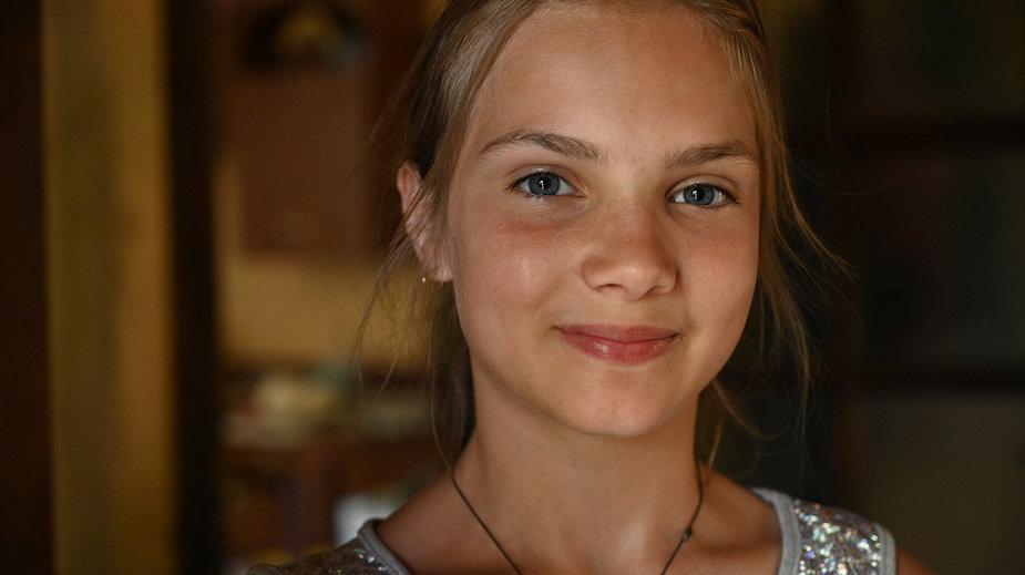 12-letnia Tetiana Tułajdan