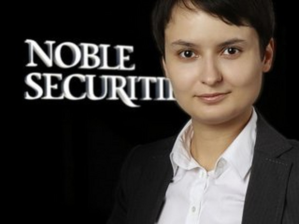 Eliza Dąbrowska, Noble Securities.