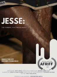 Egbejule's 'Jesse' is scheduled to premiere at AFRIFF on November 13, 2019. [Eromo Egbejule]