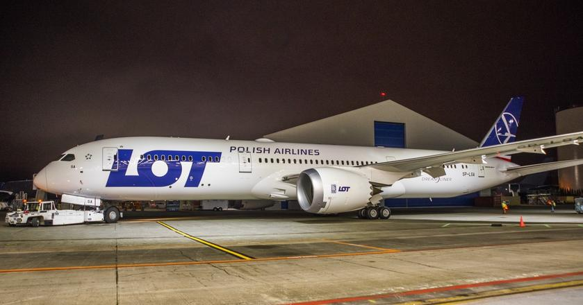 Boeing 787-9 Dreamliner w barwach PLL LOT jeszcze jest w Everett. Pod koniec marca zacznie obsługiwać połączenia z Warszawy do Chicago