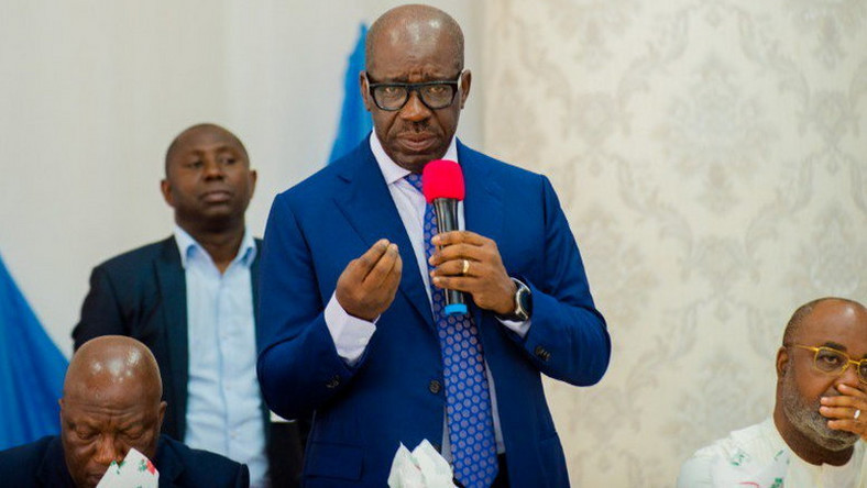 Gov. Godwin Obaseki says he has never seen any ideological difference between the PDP and the APC. (Pulse)