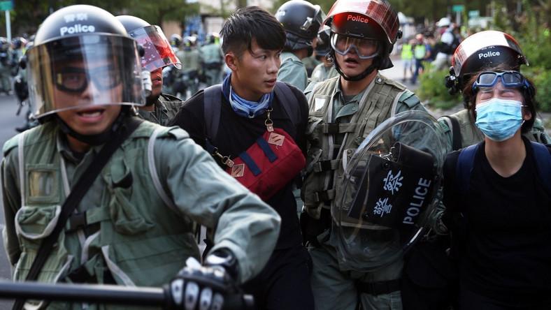 Zamieszki w Hongkongu