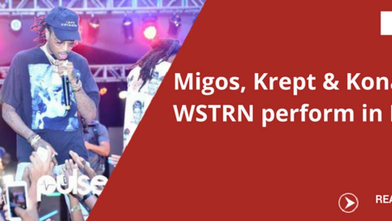 Migos Us Stars Krept N Konan Wstrn Perform At The Beat Fm