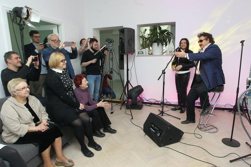 Krzysztof Krawczyk na scenie