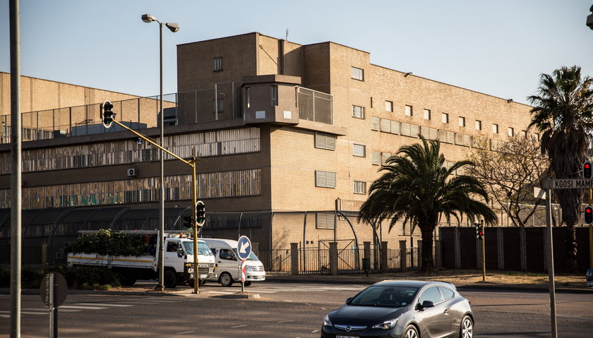 Więzienie w Pretorii, Południowa Afryka