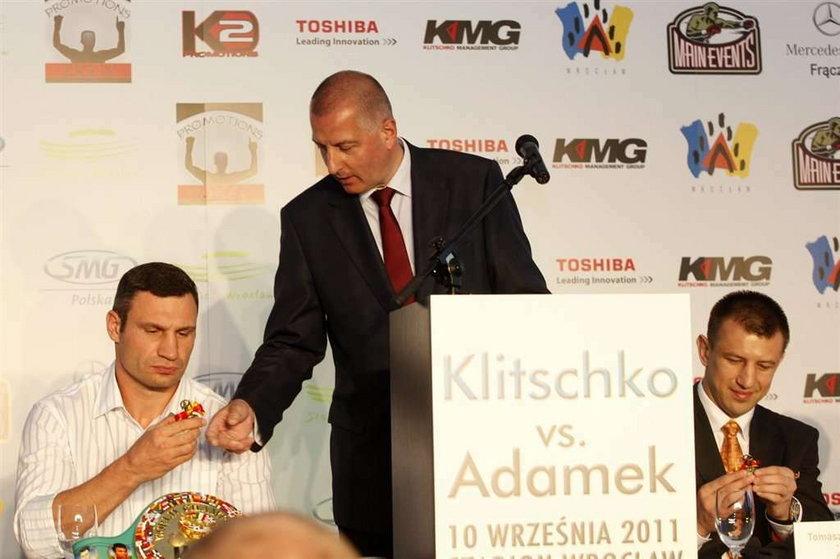 Adamek i Kliczko spotkali się we Wrocławiu