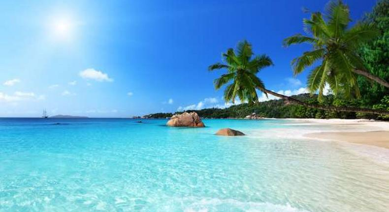 Anse Lazio in the Seychelles third best beach in Africa and the 13th globally