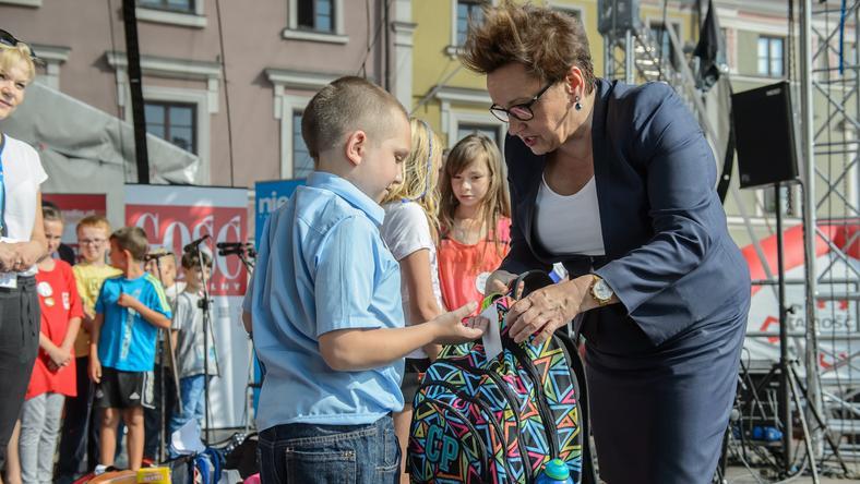 W Zamościu była obecna również minister edukacji Anna Zalewska
