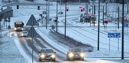Gdzie jest wiosna? Atak zimy w Olsztynie zaskoczył nie tylko kierowców... [GALERIA]