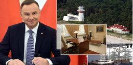 Prezydent Andrzej Duda rządzi z Juraty
