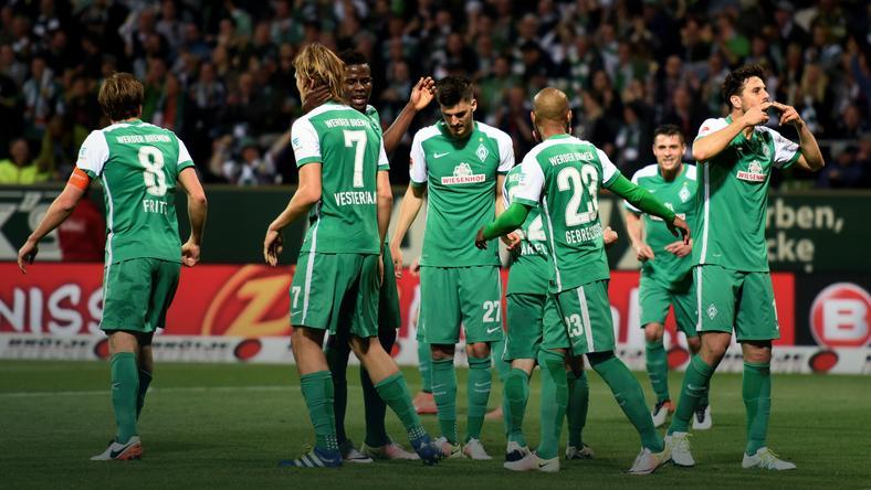 Piłkarze Werderu Brema