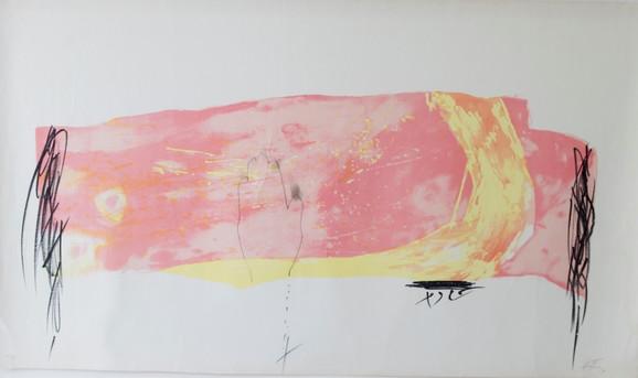 Antoni Tapies, Bez naslova, 2003.