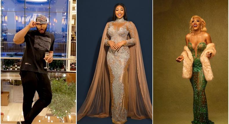 Kiddwaya, Mercy Eke among the celebrities who turned up for Erica's 27th birthday [Instagram/Kiddwaya] [Instagram/EricaNlewedim] [Instagram/MercyEke]