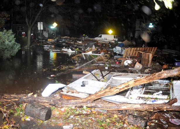 Zniszczenia dokonane przez Sandy