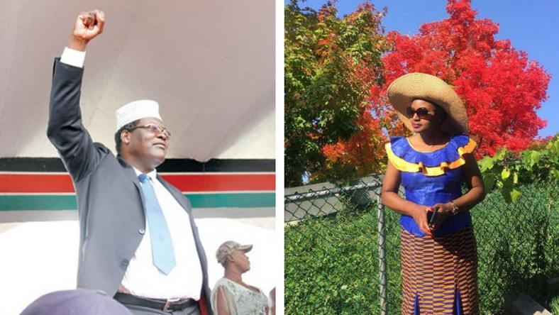 Miguna shows his soft side with romantic message to wife; Kenyans react in shock