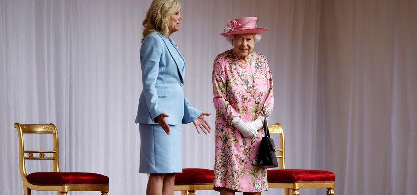 Znana stylistka o ubiorze Jill Biden podczas spotkania z królową: Wyglądała jakby zapomniała o wyprasowaniu marynarki