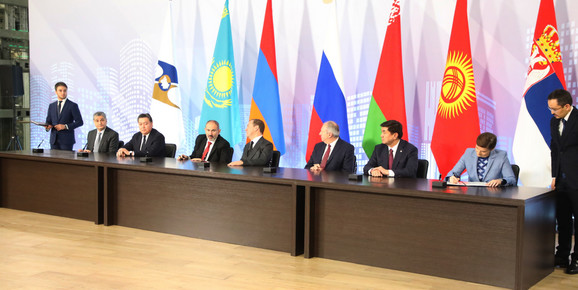 Ana Brnabić je krajem oktobra potpisala Sporazum o slobodnoj trgovini sa Evroazijskom unijom