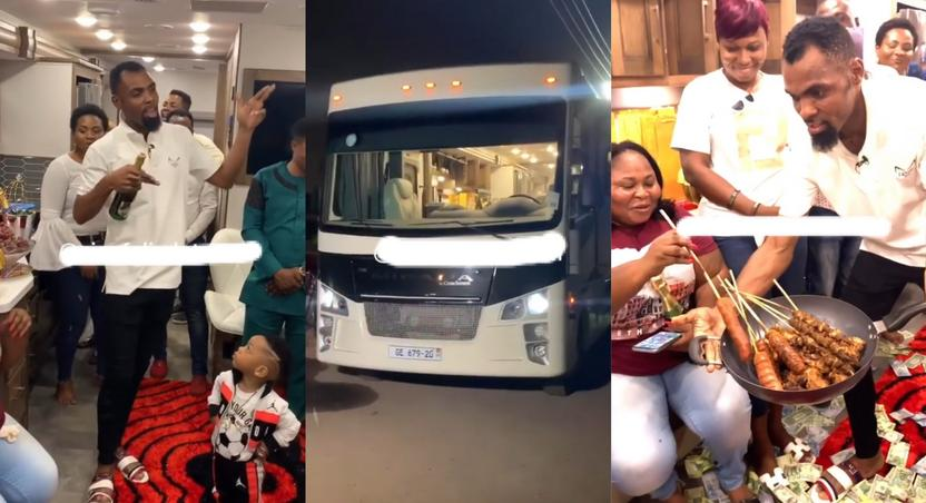 Obofour parties on $120,000 Coachmen Mirada