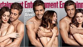 Anne Hathaway topless w objęciach Jake'a Gyllenhaala