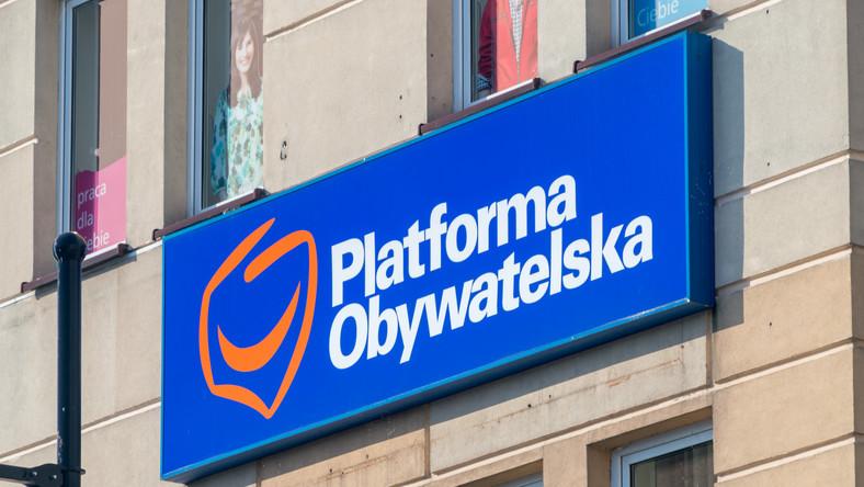 Platforma Obywatelska, PO, logo