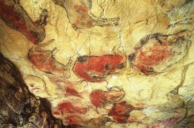 Crteži na zidovima pećine Altamira